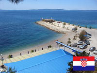 Picture of a beach in Split