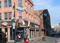 Cafe Depot - Corner St-Laurent & Prince-Arthur, MTL, QC, Canada