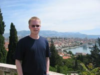 Me in Split, Croatia