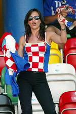 Euro 2004 - Cute Croatian Fan - Maz, this picutre is for you!